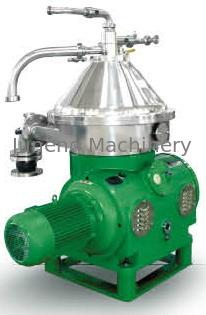 القرص المكدس فاصل مع القدرات 1000-5000 L / H للحصول على المعادن النفط النفط فاصل المياه